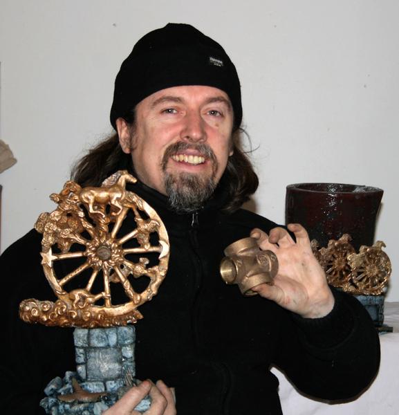 From Scrap to Bronze. Making bronze sculpture from scrap bronze metal