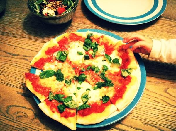 Yummy! @Dutchcowboy made pizza!
