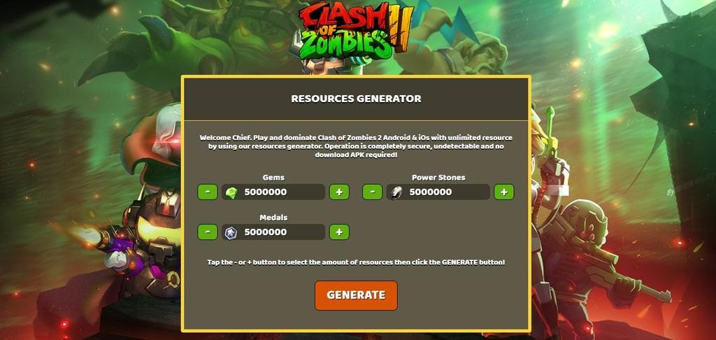 Clash of Zombies 2 Hack