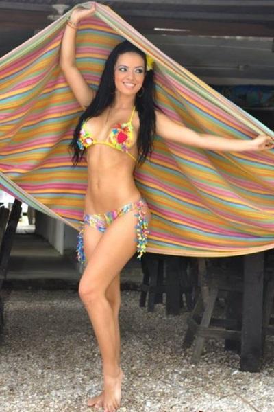 La súper preciosa Elianis Garrido que belleza!!!