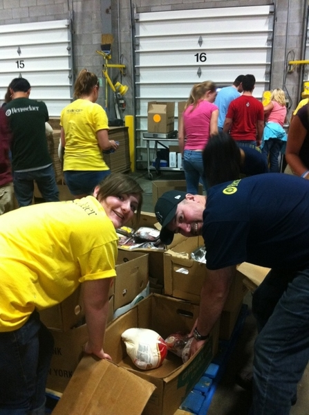 #HOBY #NYE at Regional Food Bank.    #outstanding!