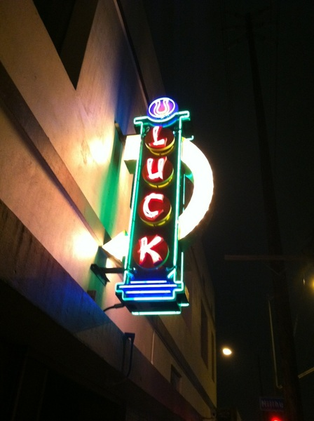 "Farewell, Good Luck Bar. Nice cameo on HBO's ""Luck"" but u will always be just another cool Hollywood shitty bar 2 me :)"