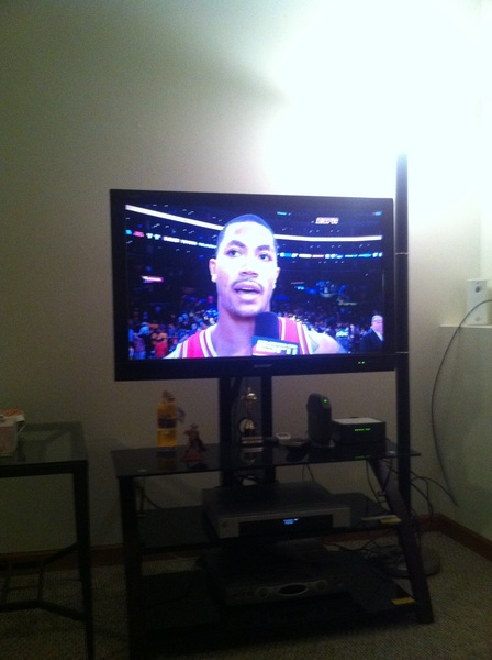 Did anyone just see that? #Bulls #Rose #Winning
