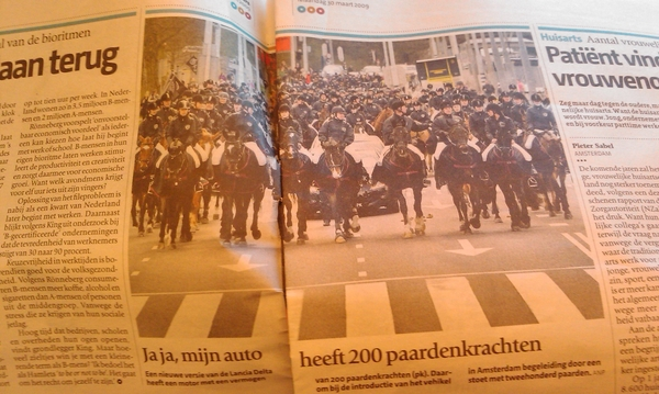 In de pers van gisteren. @bramfasseur