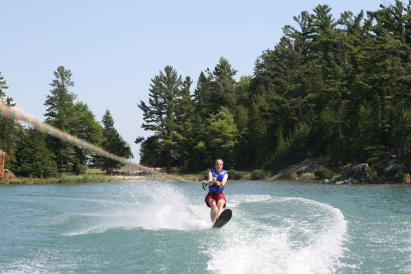 Did the waterskiing again.  http://prbt.nl/0EF3C6A8