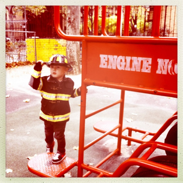 Fletcher of the day: On duty