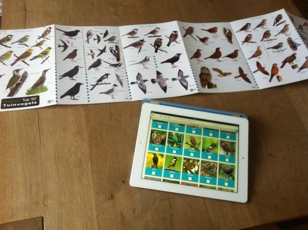 Wij doen vandaag mee met de Nationale #tuinvogeltelling