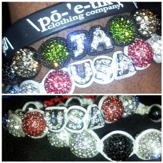 #Rep Hard or Go #Home | #Jamaica #USA #JA #July4 #JamRock #UnitedStates | #Custom #Shamballa #Bracelets | @poetikempire