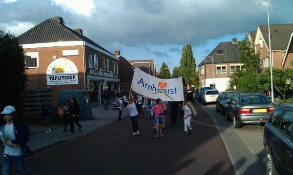de #laatste lootjes voor de #avondvierdaagse #dearnhorst heeft het er ook opzitten
