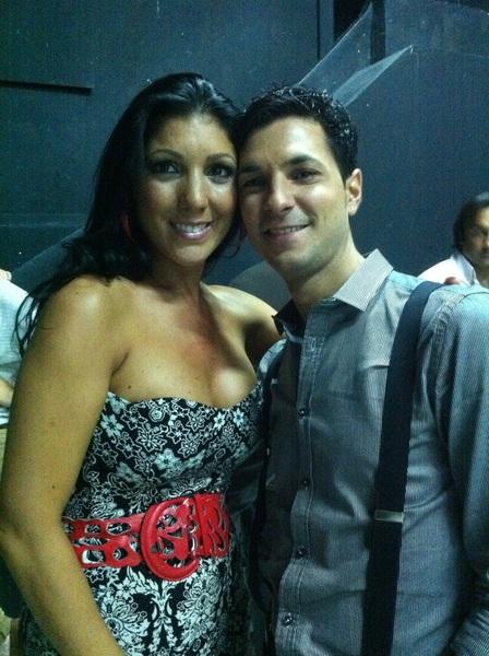 Con @JoanaJimenez_ pedazo de artista mejor persona,un beso corazon.