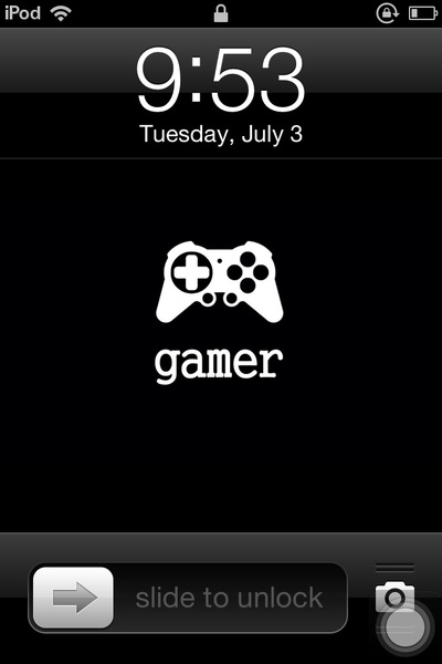 Look at my lock screen picture! Yay.