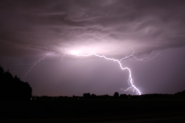 Onweer West Brabant #buienradar