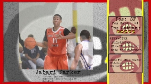"""Katie Couric's interview with #UofL target Jabari Parker will air 8:19 am """"Good Morning America"""" http://t.co/fU3xGBYL"""