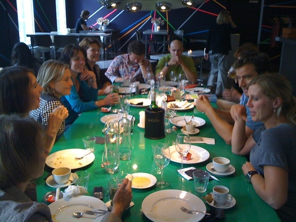 Goodbye lunch w/ team Talentfirst, Wout & Jet are leaving to live their dream in Portugal