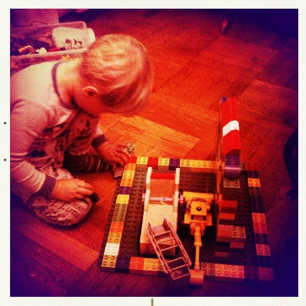 Fletcher of the day: Legos