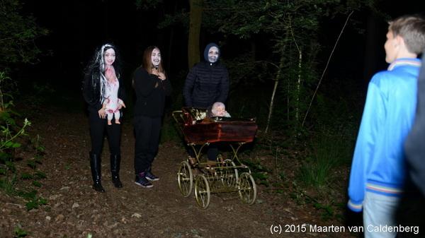 Afgelopen nacht was de #spooktocht van @bstven #rosmalen bij #groep8 #kamp