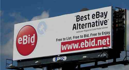eBid.net billboard