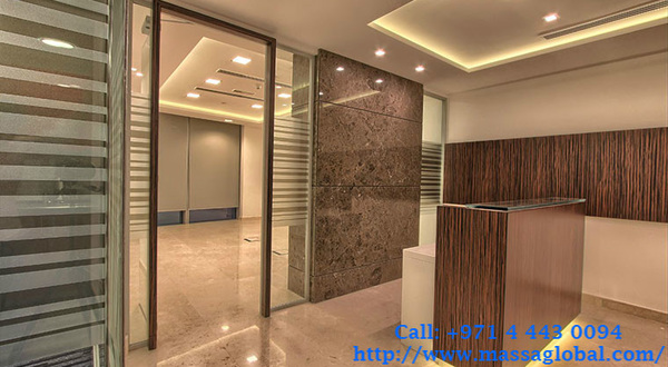 Office & Interior Renovation Dubai at Massa Global