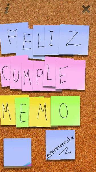 - Felicidades a @memorexmota por su cumple es gamer, twitero, yubi y ademas mi amigo te quiero jotingo ;D