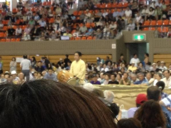 ごろうちゃんの太鼓実演! #sumo