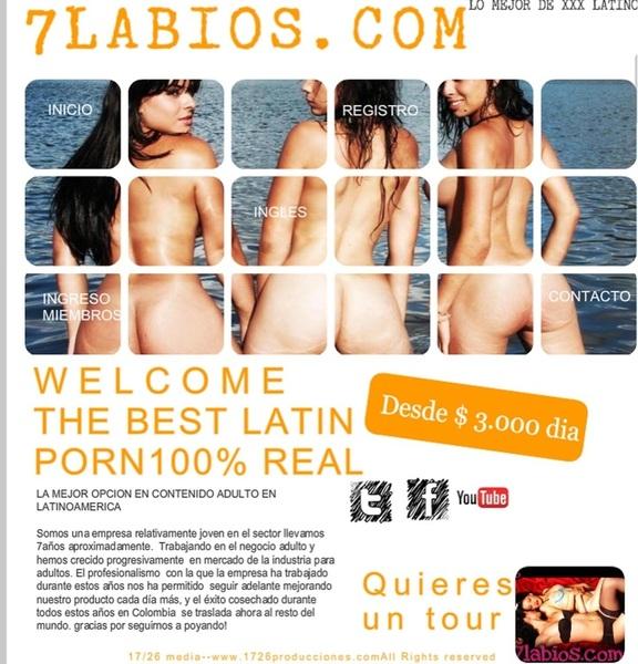 #PornoColombiano