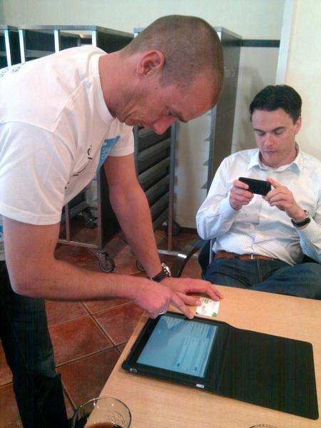 de iPad van internet voorzien #ipadtweetup