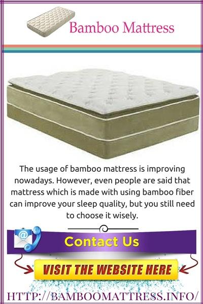 Bamboomattress.info