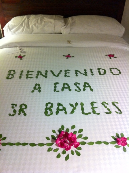 Arrived in Oaxaca. 20th Christmas here, 14 in the same hotel. Nice to have such a warm welcome awaiting