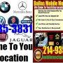 Mobile Foreign Import auto car repair service in Dallas, TX