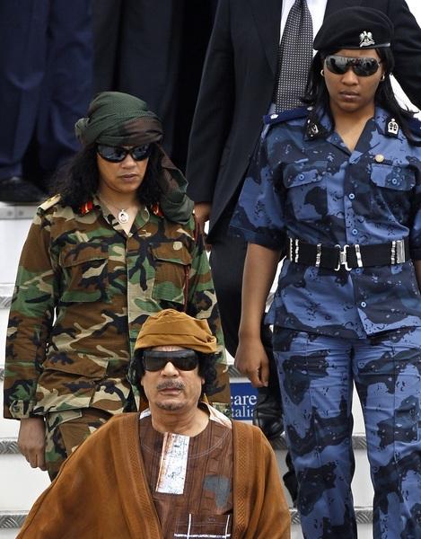5= #Gaddafi's virgin female guards #apml #ppp #pakistan #pti #zulfiqarmirza #mqm #lahore #karachi #bugti