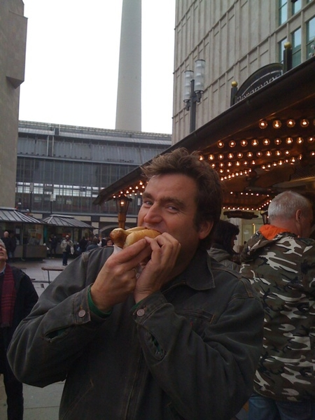 First, a Bratwurst!