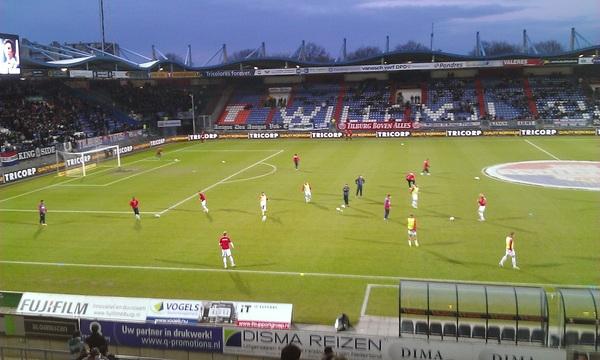 Warmingup Willem 2 - PSV