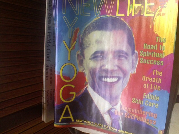 What's Barack got to do with Yoga?
