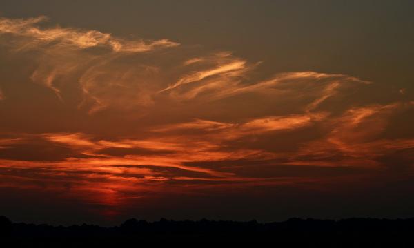 Zonsondergang #buienradar