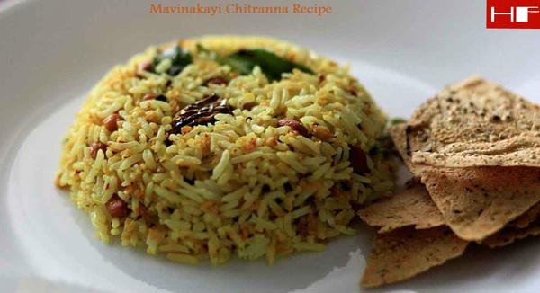 Mavinakayi Chitranna Recipe