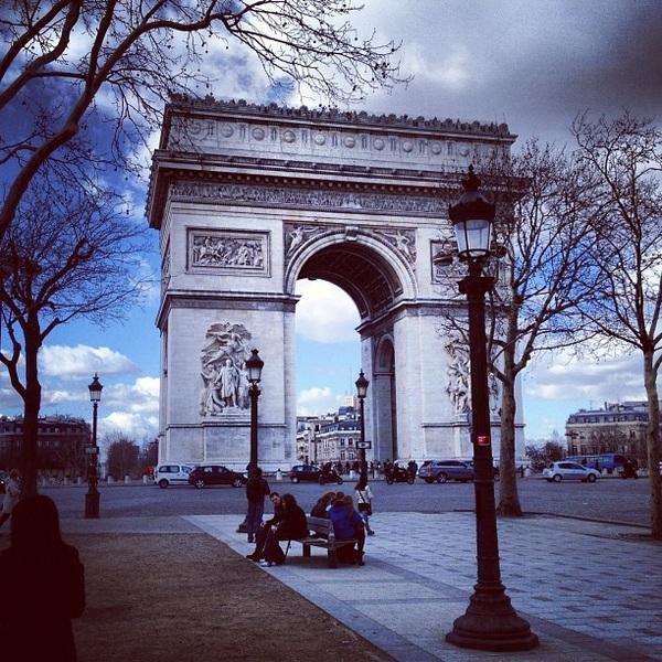 Arc de trizzy. (again) #paris #gmn86ies