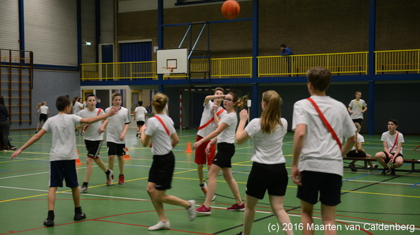 De 2de klassers van @rodenborch #rosmalen hebben vandaag #basketbaltoernooi