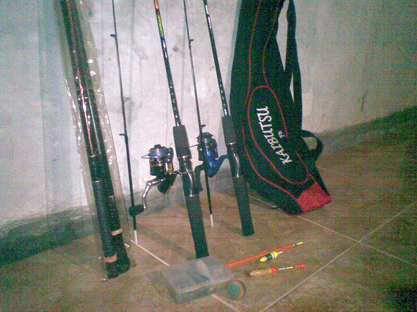 Persiapan! Go fishing! (ง`▾´)ง