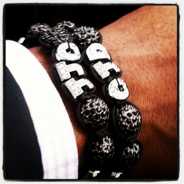 Two #Custom @poetikempire #Shamballa #Bracelets at The #Same #Damn #Time!
