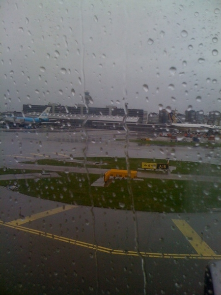 Yeah, back in rainy Holland