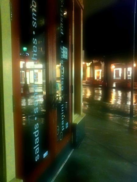 #night #stuff reflection obsession #photo #salad