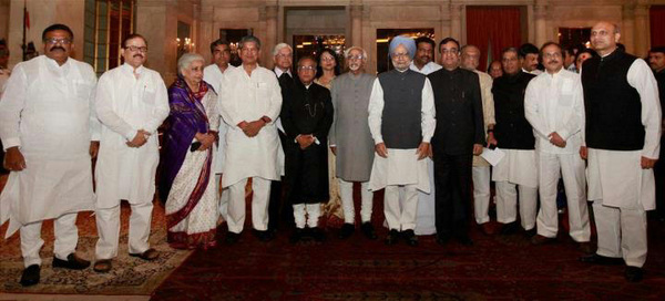New Robber(t)s of #India! #CabinetReshuffle #News