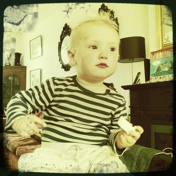 Fletcher of the day: stripes