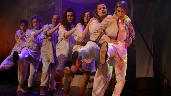 Een vrolijke sfeer bij #musical #midzomernachtsdroom @rodenborch #rosmalen