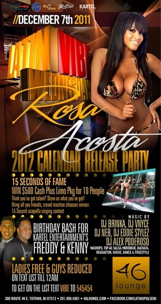 NJ Come party with me 12.07.11 at @46lounge  and get my 12' Stretching Calendar