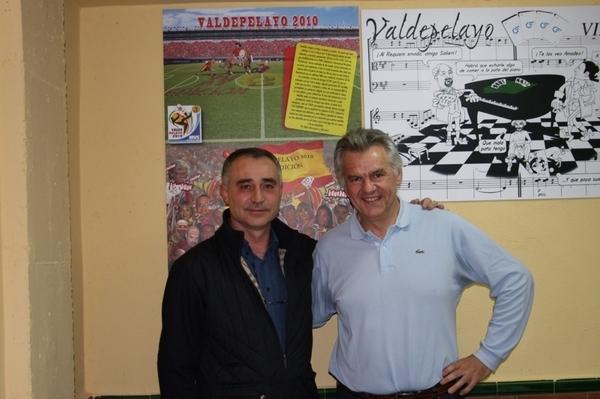 Primera pareja inscrita en la XV Valdepelayo de mus: Juan Carlos y Bernardo #fb