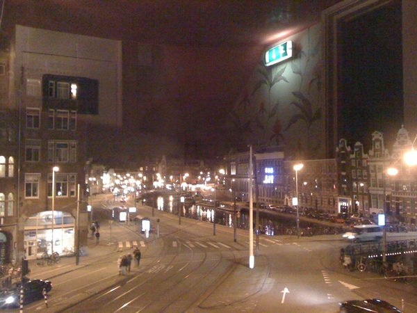 Great restaurant with a cool view. (was on the Amsterdam list for dinner with Mason. NeXT time)