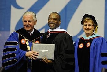Earlier today @UMassLowell... #honorary  #doctorofhumaneletters