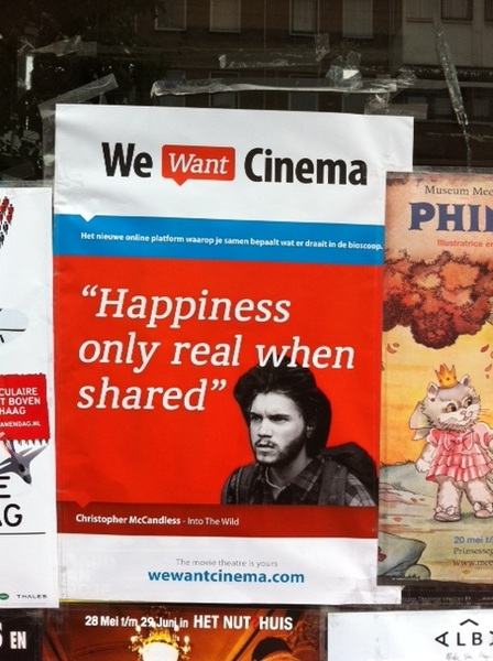 'Happyness only real when shared' =  True #quote - Pic taken by @EdgarNeo