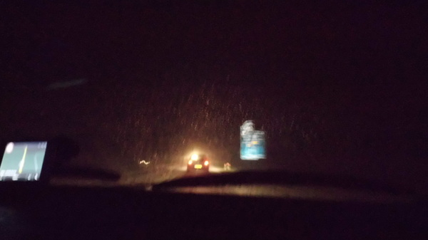 in #Emmen lag al een beetje sneeuw, onderweg nog meer sneeuw en thuus lag dr noppes, niets, nakkes, NaDa!